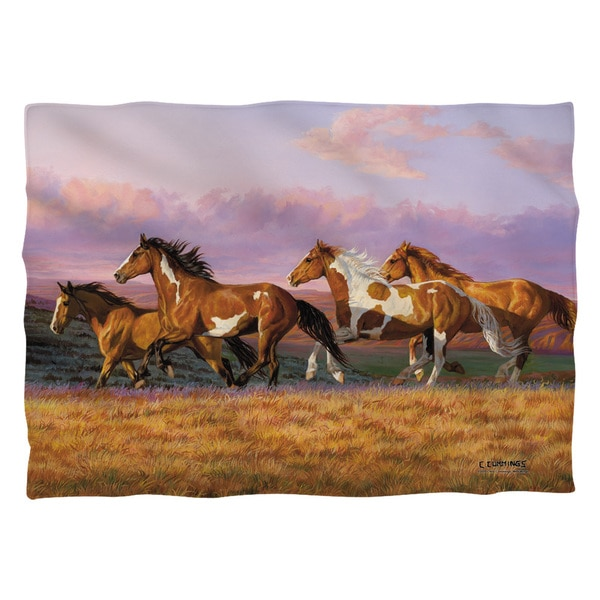 Wild Wings/Sunset Cruise 2 (Front/Back Print)  Pillowcase