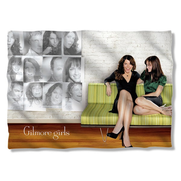 Gilmore Girls/Couch (Front/Back Print) Pillowcase