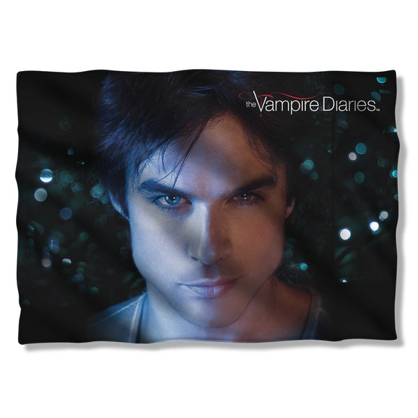 Vampire Diaries/Damon Eyes (Front/Back Print)  Pillowcase