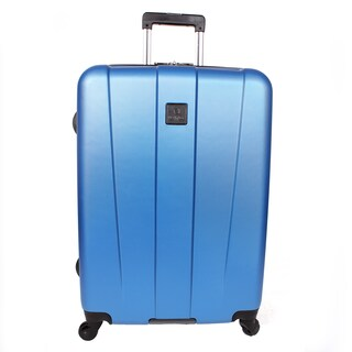 Heritage Gold Coast 25-inch Grey ABS Hardside Spinner Upright Suitcase