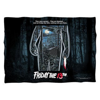 Friday The 13Th/Poster (Front/Back Print) Pillowcase