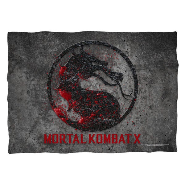 Mortal Kombat X/Stone Logo (Front/Back Print)  Pillowcase