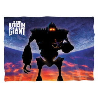 Iron Giant/Poster (Front/Back Print) Pillowcase