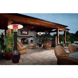 Lava Heat Italia Wicker Commercial Dome-Style Propane Patio Heater