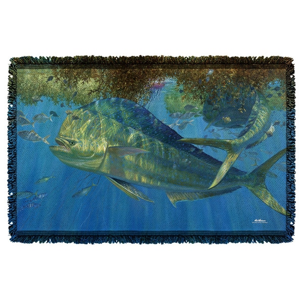 Wild Wings/Uninvited 2 Graphic Woven Throw