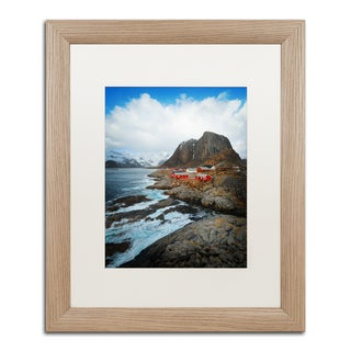 Philippe Sainte-Laudy 'Hamnoy' Matted Framed Art