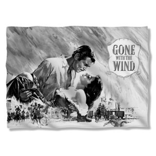 Gone With The Wind/Bw Poster Pillowcase