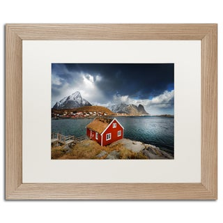 Philippe Sainte-Laudy 'Bye Bye Reine' Matted Framed Art