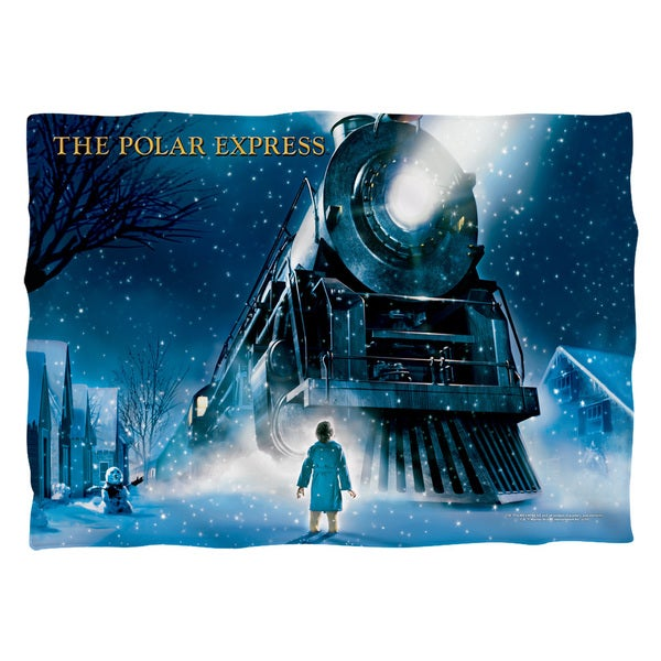 Polar Express/Poster (Front/Back Print)  Pillowcase