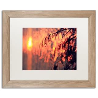 Beata Czyzowska Young 'Sunset Wishes' Matted Framed Art