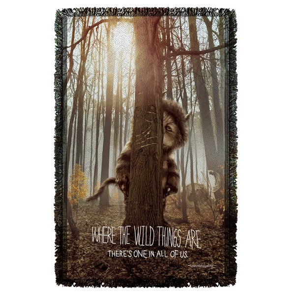 Where The Wild Things Are/Wild Thing Tree Graphic Woven Throw