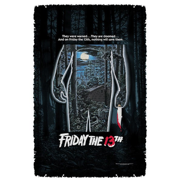 Friday The 13Th/Poster Graphic Woven Throw