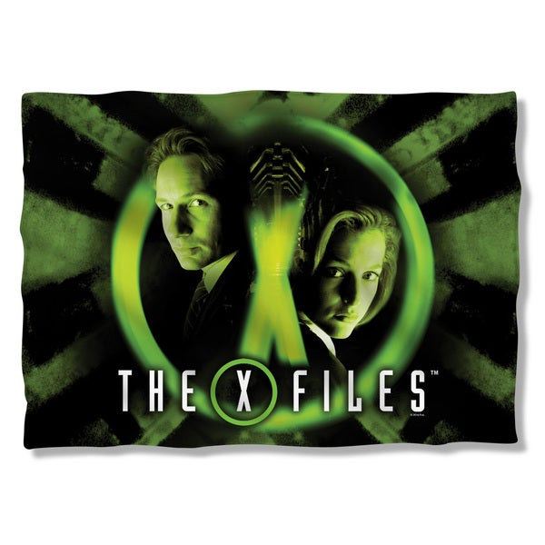X Files/Trust No One (Front/Back Print) Pillowcase