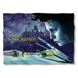 Edward Scissorhands/Movie Poster (Front/Back Print) Pillowcase