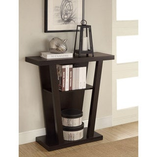 Coaster Company Cappuccino Storage Accent Table