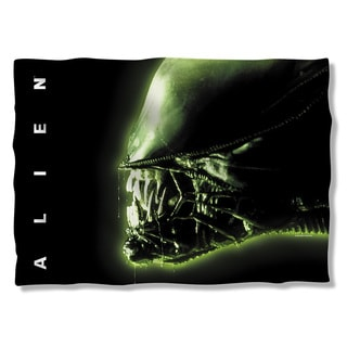 Alien/Head (Front/Back Print) Pillowcase