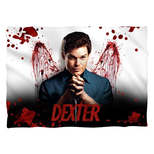 Dexter/Blood Never Lies (Front/Back Print)  Pillowcase