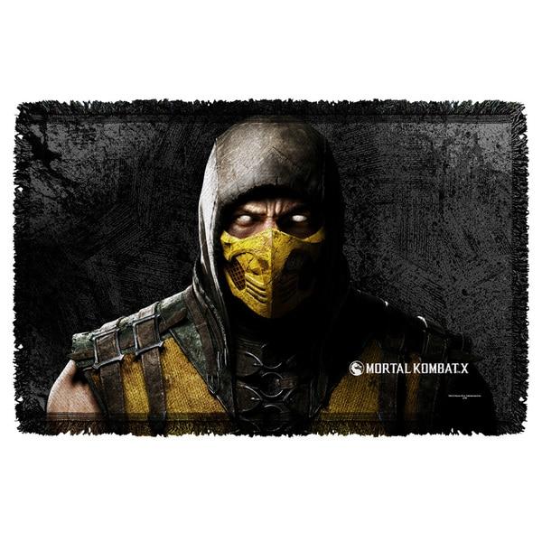 Mortal Kombat X/Scorpion Graphic Woven Throw