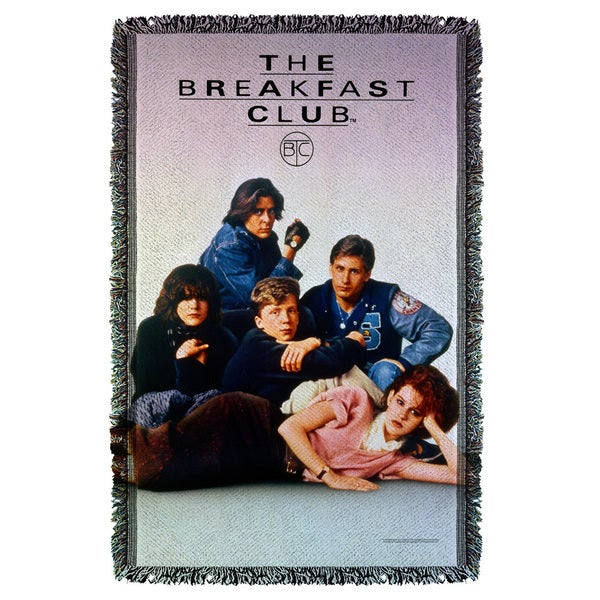 Breakfast Club/Poster Graphic Woven Throw