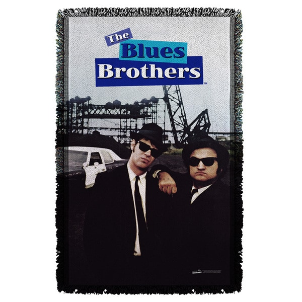 Blues Brothers/Poster Graphic Woven Throw
