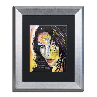 Dean Russo 'Love Doesn't Live Here' Matted Framed Art