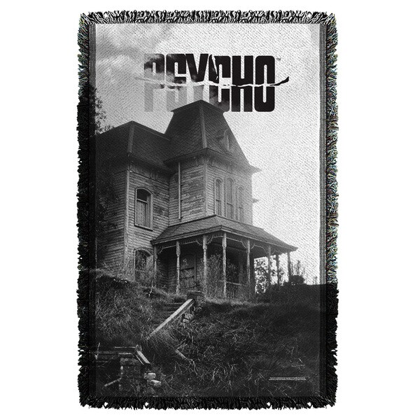 Psycho/House Graphic Woven Throw