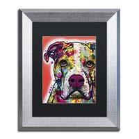 Dean Russo 'American Bulldog' Matted Framed Art