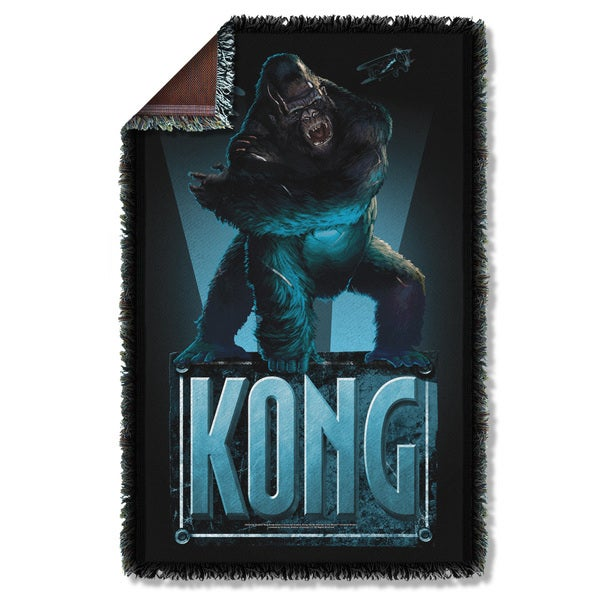 King Kong/Kong Graphic Woven Throw