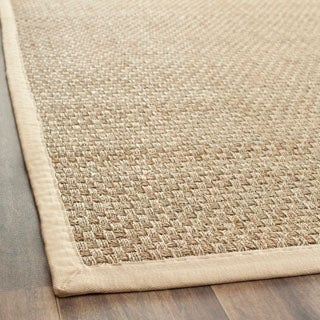 Safavieh Casual Natural Fiber Hand-Woven Sisal Natural / Beige Seagrass Runner (2'6 x 12')