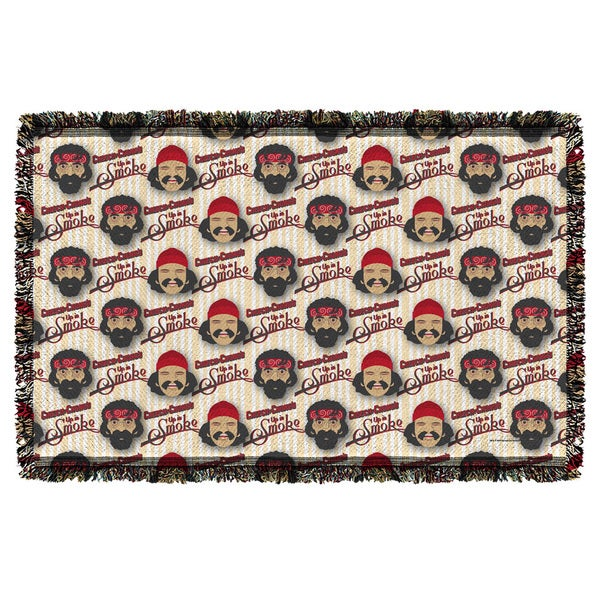 Cheech & Chong/Bambu Graphic Woven Throw
