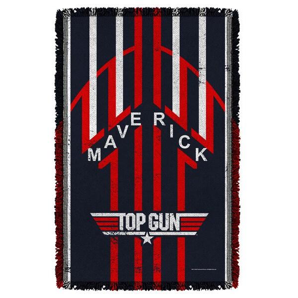 Top Gun/Maverick Graphic Woven Throw