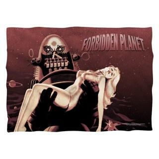 Forbidden Planet/Poster Polyester 20x28 Pillowcase