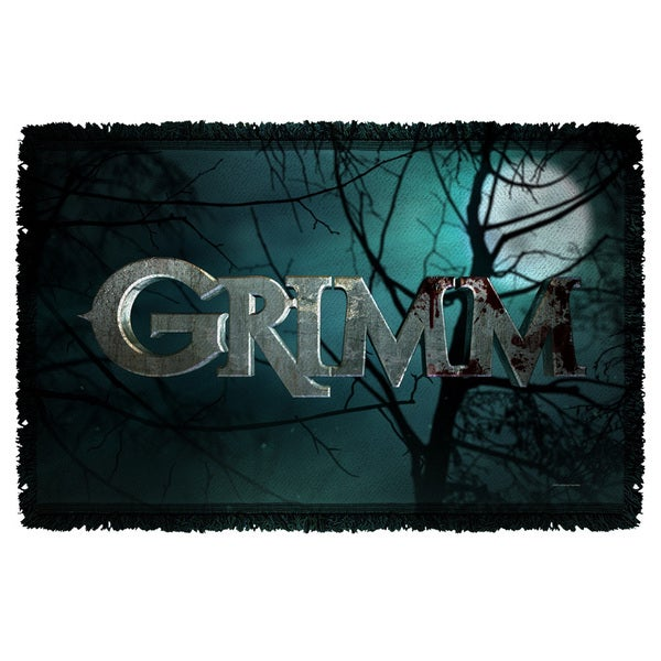 Grimm/Logo Graphic Woven Throw