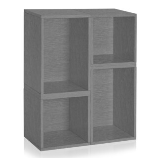 Verona Modular Storage System Eco Bookcase Shelving LIFETIME WARRANTY (made from sustainable non-toxic zBoard paperboard)