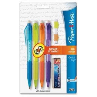 Paper Mate Quick Flip Mechanical Pencils - Assorted (4/Pack)