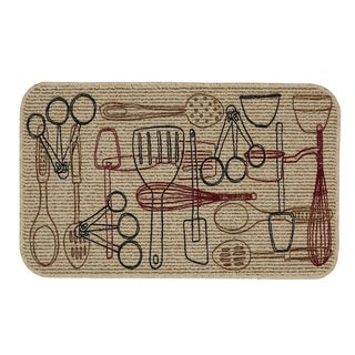 Mohawk Home  Kitchen Utensils Kitchen Mat (1'6 x 2'6)