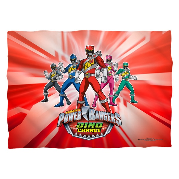 Power Rangers/Dino Rangers (Front/Back Print) Pillowcase Pillowcase