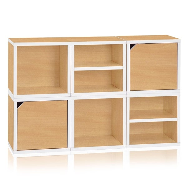 Denton Eco Stackable 6 Cube Storage System By Way Basics LIFETIME GUARANTEE