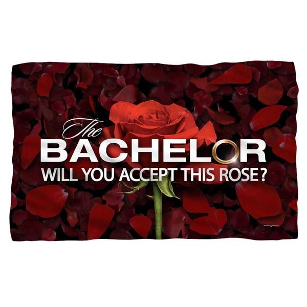 Bachelor/Rose Petals Fleece Throw