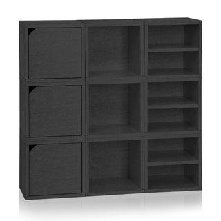 Argyle Eco Stackable 9 Cube Storage System by Way Basics LIFETIME GUARANTEE
