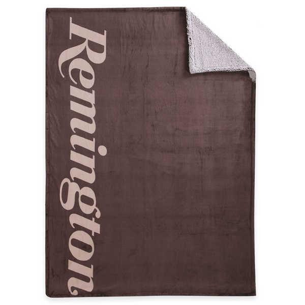 Remington Supreme Velvet Oversized Coffee Bottom Dyed Throw