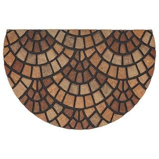 Mohawk Home Doorscapes Estate Natural Mosaic Door Mat (1'11 x 2'11)