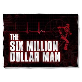 Six Million Dollar Man/Logo Pillowcase