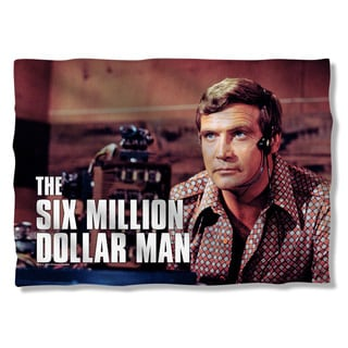 Six Million Dollar Man/Steve Austim Pillowcase