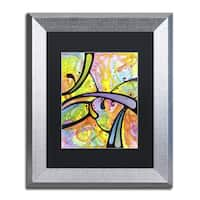 Dean Russo 'Abstract' Matted Framed Art