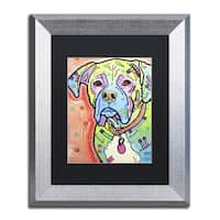 Dean Russo 'The Boxer' Matted Framed Art