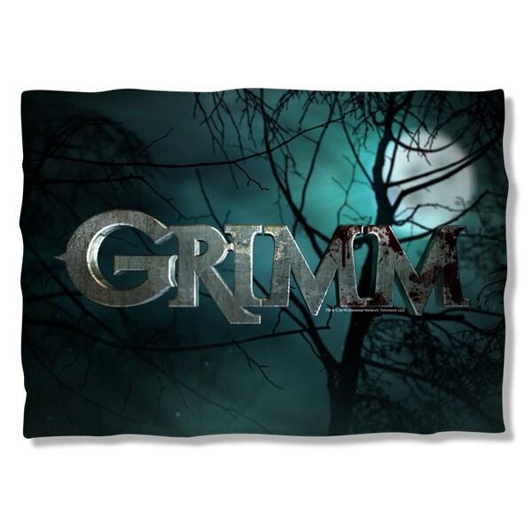 Grimm/Logo (Front/Back Print) Pillowcase