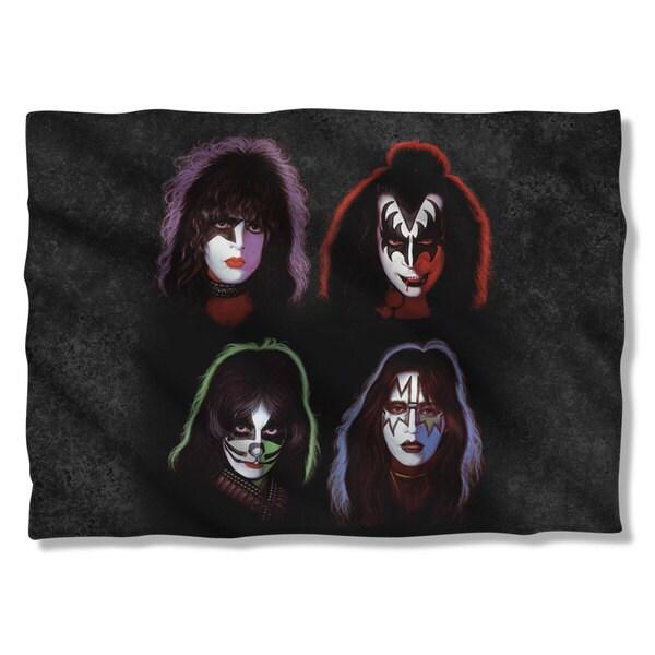 Kiss/Solo Heads Pillowcase