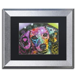 Dean Russo '14' Matted Framed Art
