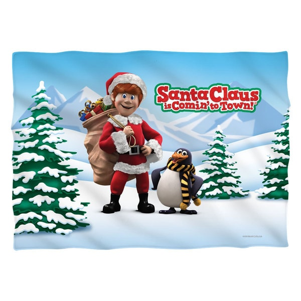 Santa Claus Is Comin To Town/Kris and Topper (Front/Back Print) Pillowcase Pillowcase